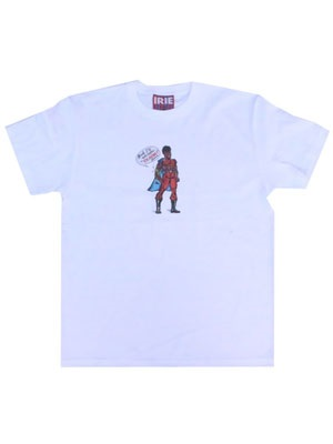 IRIE by irielife(アイリーバイアイリーライフ)/ SUPER HERO TEE -2.COLOR-