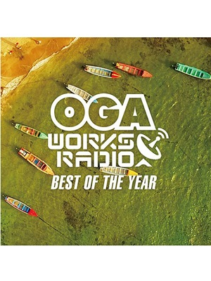 【CD】OGA WORKS RADIO MIX VOL.6 - BEST OF TE YEAR- 2017 -mixed by OGA rep.JAH WORKS-