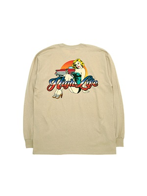High Life(ハイライフ)/ DIAMOND GIRL L/S TEE -3.COLOR-