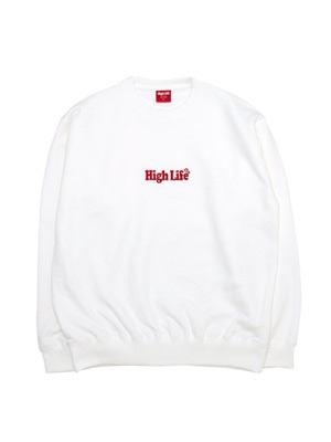 High Life(ハイライフ)/ EMBROIDERY CREWNECK -4.COLOR-