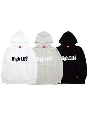 High Life(ハイライフ)/ MAIN LOGO SWEAT HOODIE -3.COLOR-