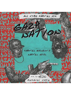 【2CD】Gaza Nation -All VYBZ KARTEL Mix- -mixed by Bad Gyal Marie-