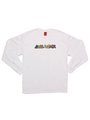 NINE RULAZ(ナインルーラーズ)/ GRAFFITI LOGO L/S TEE -2.COLOR-