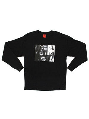 NINE RULAZ(ナインルーラーズ)/ BAD GAL SMOKE L/S TEE -2.COLOR-