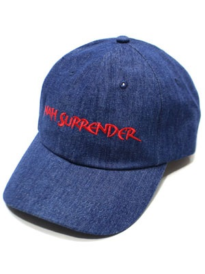 NINE RULAZ(ナインルーラーズ)/ NAH SURRENDER DADS CAP -2.COLOR-