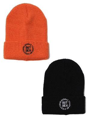 RTME x OutDeh x 7UNION KNIT CAP -2.COLOR-