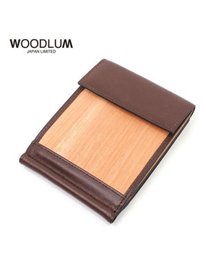 WOODLUM(ウッドラム)/ REAL WOOD CLUB WALLET