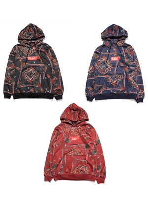 MURAL(ミューラル)/ RENAISSANCE ALL OVER HOODY