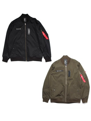 MURAL(ミューラル)/ LIGHT MA-1 JACKET -BASIC-