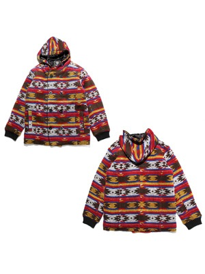 MURAL(ミューラル)/ HOODED P-COAT -NATIVE-