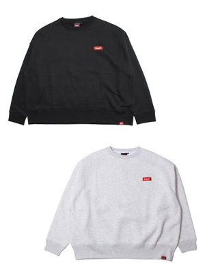 MURAL(ミューラル)/ BOX WIDE SILHOUETTE SWEAT