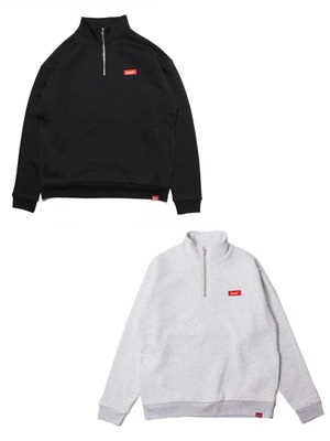 MURAL(ミューラル)/ BOX HALF ZIP SWEAT