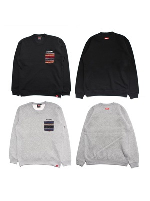MURAL(ミューラル)/ NATIVE POCKET SWEAT