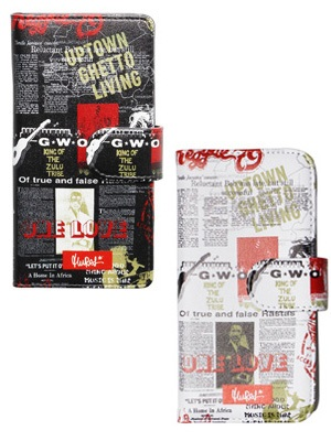 MURAL(ミューラル)/ NEWS PAPER iPhone CASE -2.COLOR-