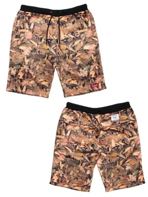 MURAL(ミューラル)/ LEAVES SWEAT SHORTS
