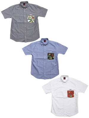 MURAL(ミューラル)/ ISLAND OF PARADISE OXFORD SHIRT