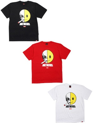 MURAL(ミューラル)/ HAVE TWO FACES T-SHIRT