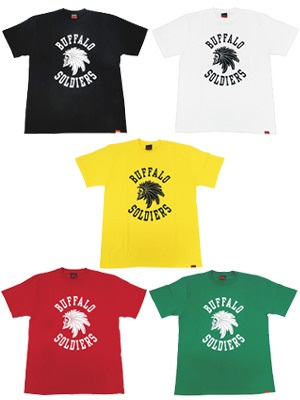 MURAL(ミューラル)/ BUFFALO SOLDIERS T-SHIRT -5.COLOR-