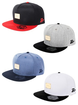 MURAL(ミューラル)/ PLATE STRAP BACK CAP(BASIC) -BI-COLOR-