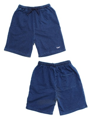 MURAL(ミューラル)/ INDIGO SWEAT SHORTS