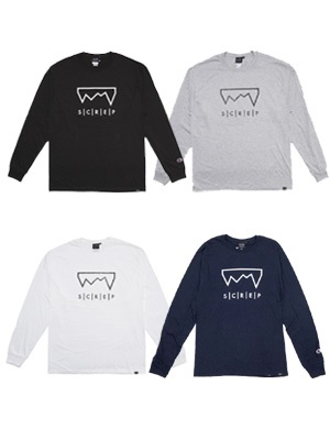 SCREP(スクレップ)/ GRAPPLE L/S T-SHIRT -4.COLOR-