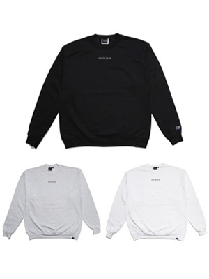 SCREP(スクレップ)/ EMBROIDERY CREW SWEAT -BASIC-