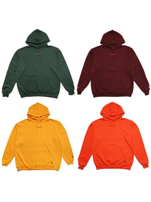 SCREP(スクレップ)/ EMBROIDERY HOODY -COLOR-