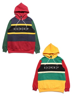 SCREP(スクレップ)/ SWITCHING HOODY