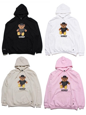 SCREP(スクレップ)/ SCREP BEAR HOODY