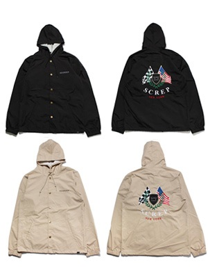SCREP(スクレップ)/ FLAG COACH'S JACKET