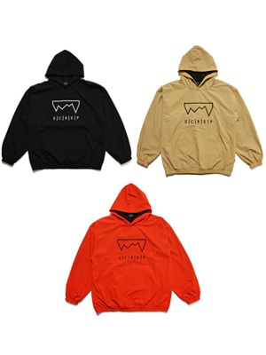 SCREP(スクレップ)/ GRAPPLE NYLON HOODY