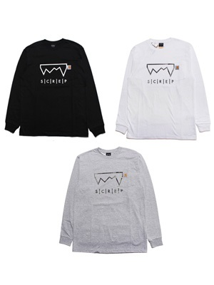 SCREP(スクレップ)/ S|C|R|E|P POCKET L/S T-SHIRT