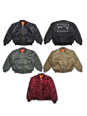 SCREP(スクレップ)/ GRAPPLE MA-1 JACKET