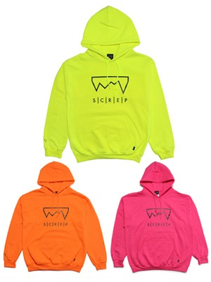 SCREP(スクレップ)/ GRAPPLE SAFETY HOODY -3.COLOR-