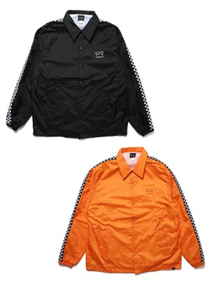 SCREP(スクレップ)/ CHECKER TAPE COACH'S JACKET -2.COLOR-