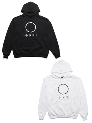 SCREP(スクレップ)/ CIRCLE CHAIN HOODY -2.COLOR-