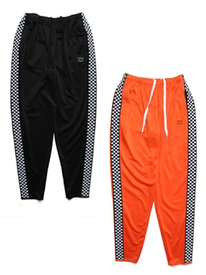 SCREP(スクレップ)/ CHECKER TRACK PANTS -2.COLOR-