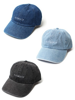 SCREP(スクレップ)/ S|C|R|E|P DENIM LOW CAP -3.COLOR-