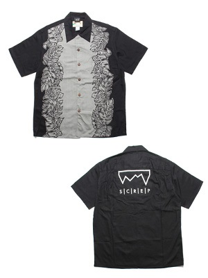 SCREP(スクレップ)/ GRAPPLE ALOHA SHIRT -A(MONSTERA PANEL)-