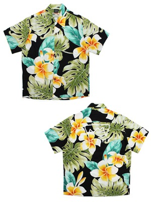SCREP(スクレップ)/ GRAPPLE ALOHA SHIRT -C(PLIMERIA BEAUTY)-