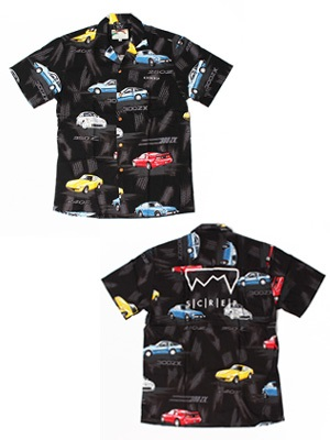 SCREP(スクレップ)/ GRAPPLE ALOHA SHIRT -G(CAR)-