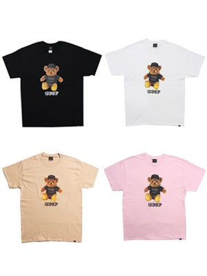 SCREP(スクレップ)/ SCREP BEAR T-SHIRT