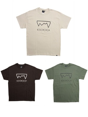 SCREP(スクレップ)/ GRAPPLE COLOR T-SHIRT -A-