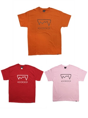 SCREP(スクレップ)/ GRAPPLE COLOR T-SHIRT -B-