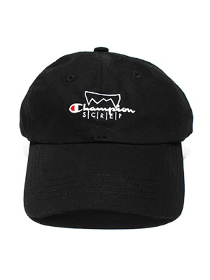SCREP(スクレップ)/ GRAPPLE OVERLAID CAP -BLACK-