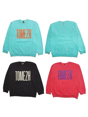 Tome2H(トミトエイチ)/ GARMENT DYE SWEAT -Lady's-