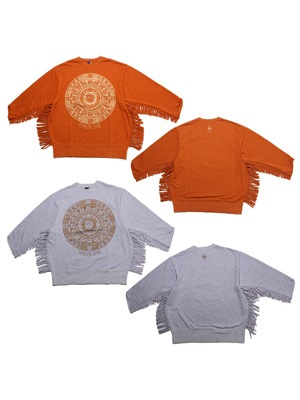 Tome2H(トミトエイチ)/ AZTEC FRINGE SWEAT ONE PIECE -Lady's-