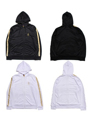 Tome2H(トミトエイチ)/ GOLD CHENILLE HOOD JERSEY -Lady's-