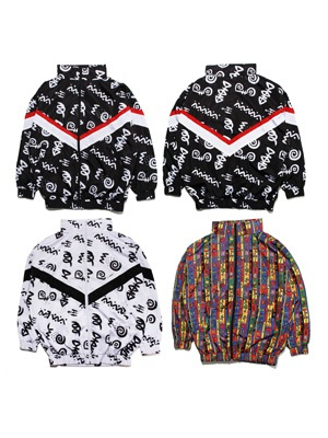 Tome2H(トミトエイチ)/ PATTERN TRACK JACKET -Lady's-