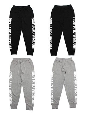 Tome2H(トミトエイチ)/ RICH AND WISDOM SWEAT PANTS -Lady's-